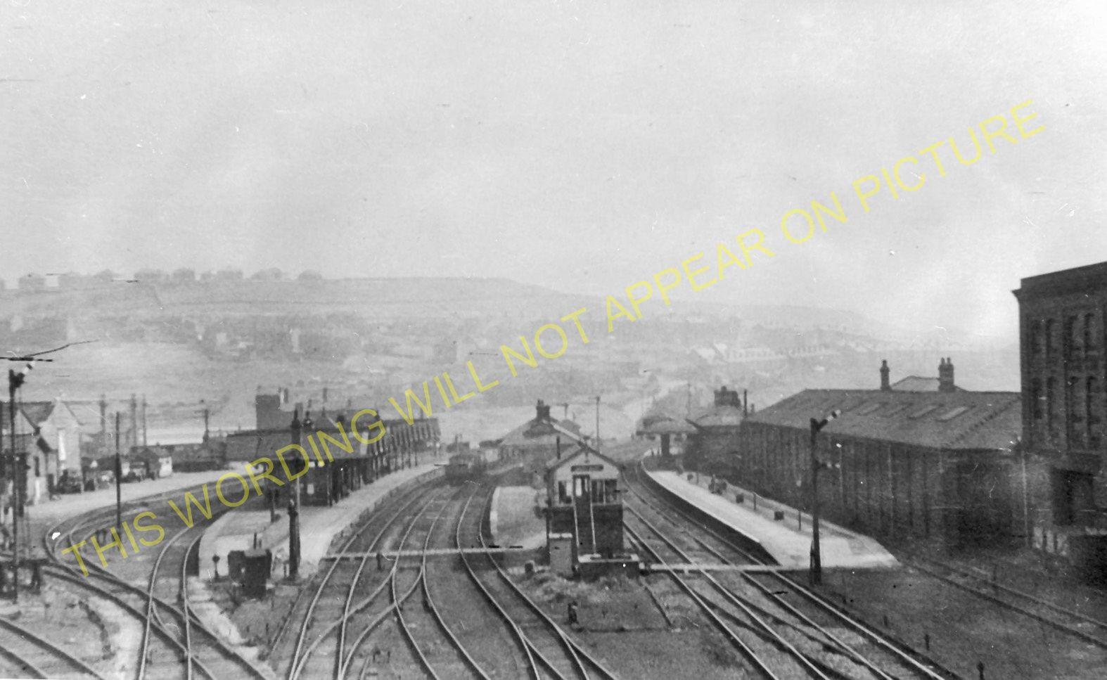 batley railway station photo dewsbury to howden clough. Black Bedroom Furniture Sets. Home Design Ideas