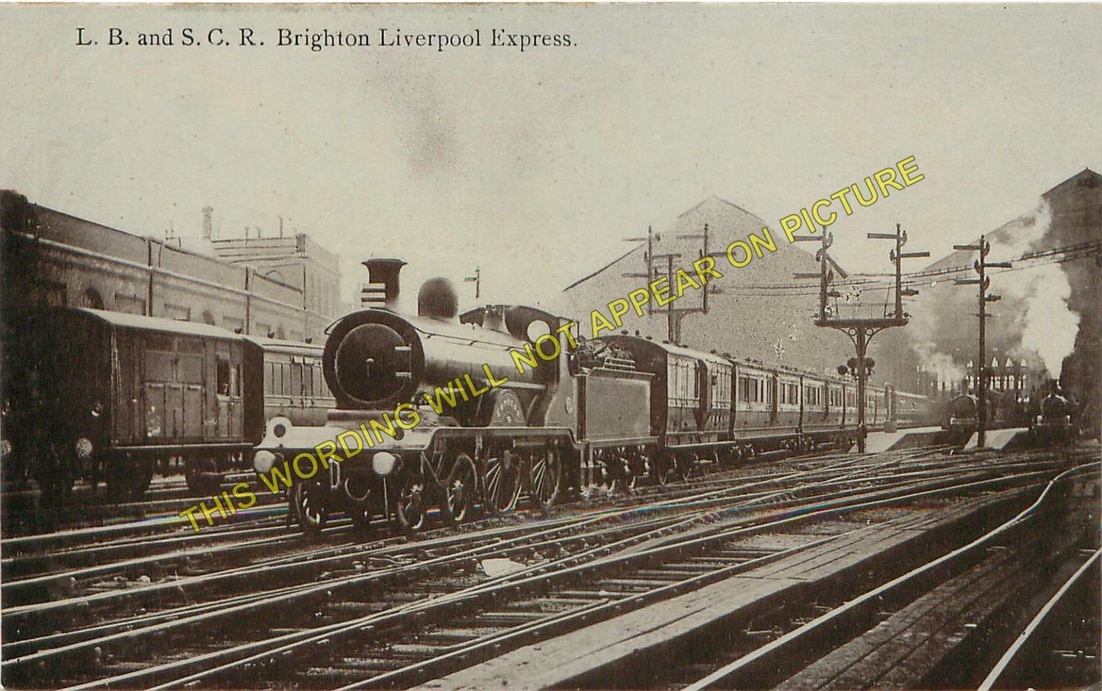 Brighton Railway Station Photo  London Brighton & South Coast Railway (23)
