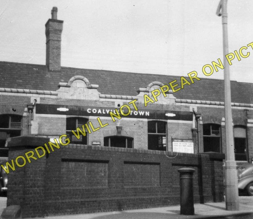 Bagworth /& Ellistown Swannington. Coalville Town Railway Station Photo 4