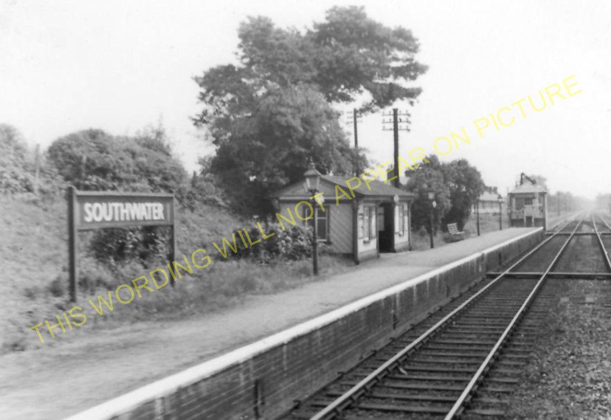 Horsham Southwater Railway Station Photo 10 West Grinstead.